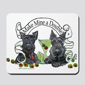 Scottish Terrier Double Mousepad