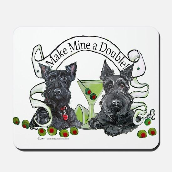 Scottish Terrier Double Mousepad