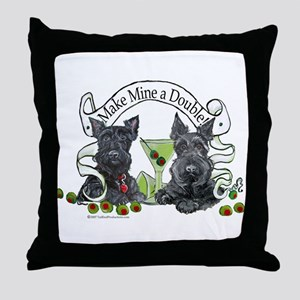 Scottish Terrier Double Throw Pillow