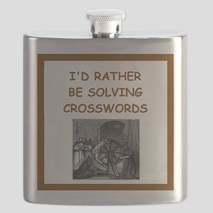 crosswords joke Flask