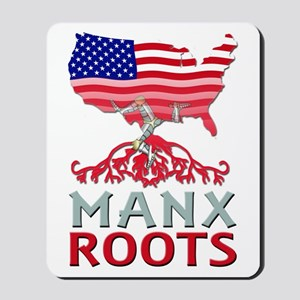 Manx American Roots Mousepad