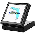 Keepsake Box for a True Blue Florida LIBERAL