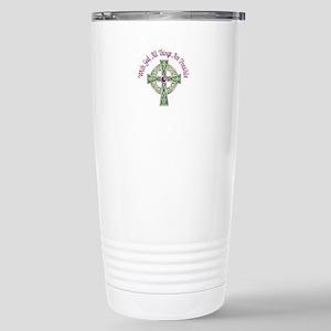 ALL THINGS POSSIBLE Travel Mug