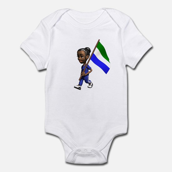 Sierra Leone Girl Infant Bodysuit