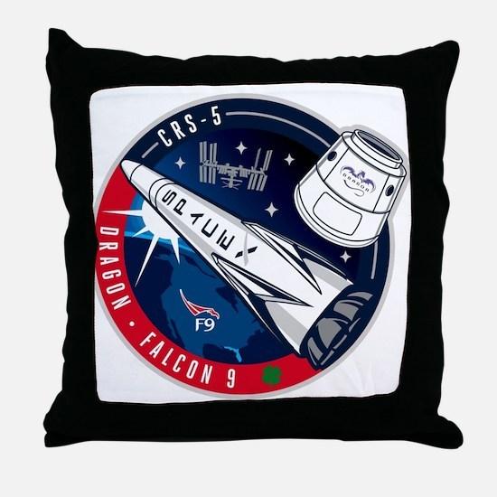 CRS-5 Throw Pillow