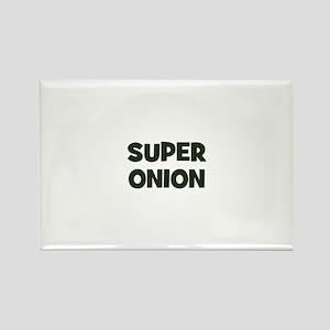 super onion Rectangle Magnet