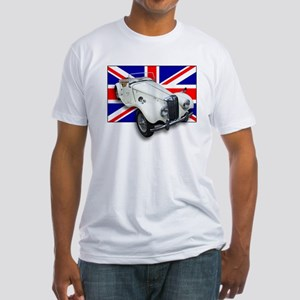 MG TF with Union Jack Fitted T-Shirt