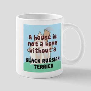 Black Russian Home Mug