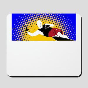 Slalom Water Skier Mousepad
