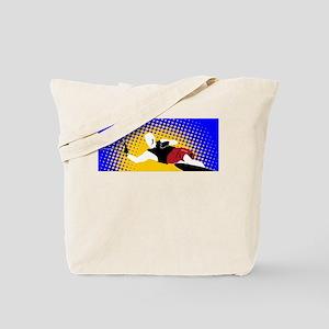 Slalom Water Skier Tote Bag