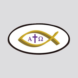 ALPHA AND OMEGA Patches