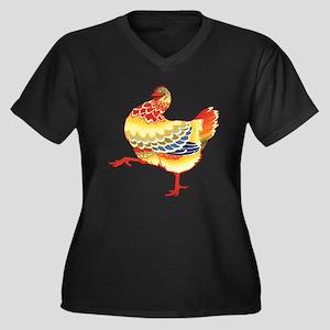 Vintage Chick Plus Size T-Shirt