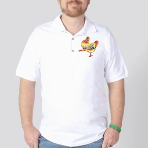 Vintage Chicken Golf Shirt