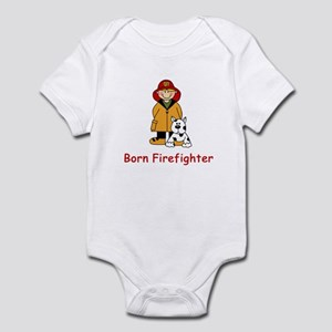 Born Firefighter Infant Bodysuit