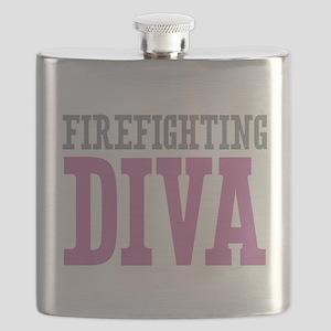Firefighting DIVA Flask