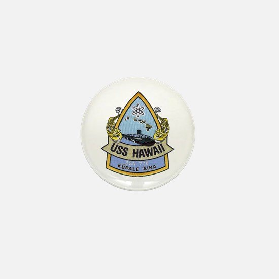 USS HAWAII Mini Button