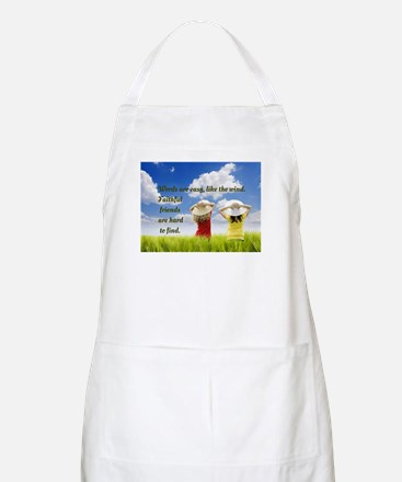 Faithful Friends Are Hard To Find Apron