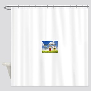 Faithful Friends Are Hard To Find Shower Curtain