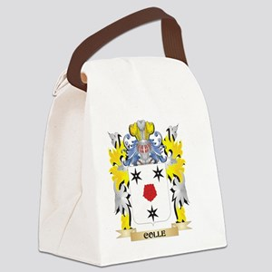 Colle Coat of Arms - Family Crest Canvas Lunch Bag
