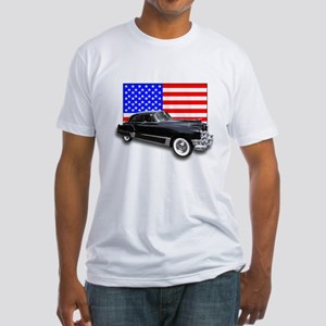Vintage Cadillac Fitted T-Shirt