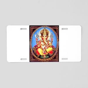 Ganesh / Ganesha Indian Ele Aluminum License Plate