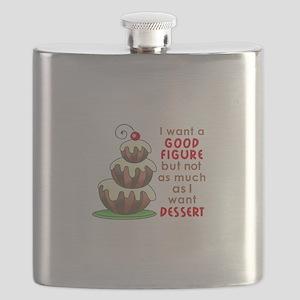 I WANT A GOOD FIGURE Flask