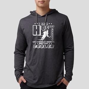 I'm A Hockey Grandpa T Shirt Long Sleeve T-Shirt