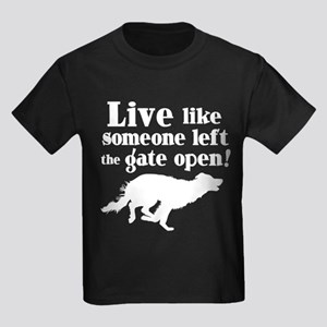 OPEN GATE Kids Dark T-Shirt
