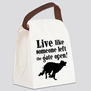 OPEN GATE Canvas Lunch Bag