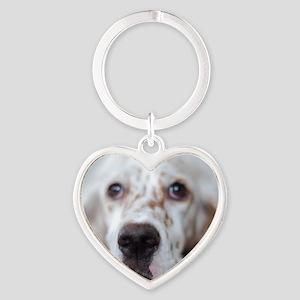 Puppy dog Heart Keychain