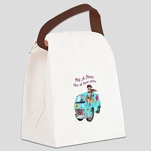 STILL A HIPPY Canvas Lunch Bag