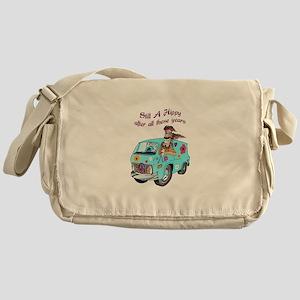 STILL A HIPPY Messenger Bag