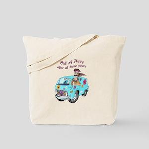 STILL A HIPPY Tote Bag