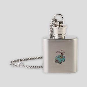STILL A HIPPY Flask Necklace