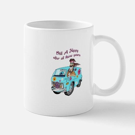STILL A HIPPY Mugs