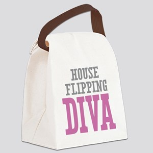 House Flipping DIVA Canvas Lunch Bag