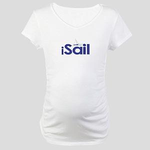 iSail (Sailing) Maternity T-Shirt