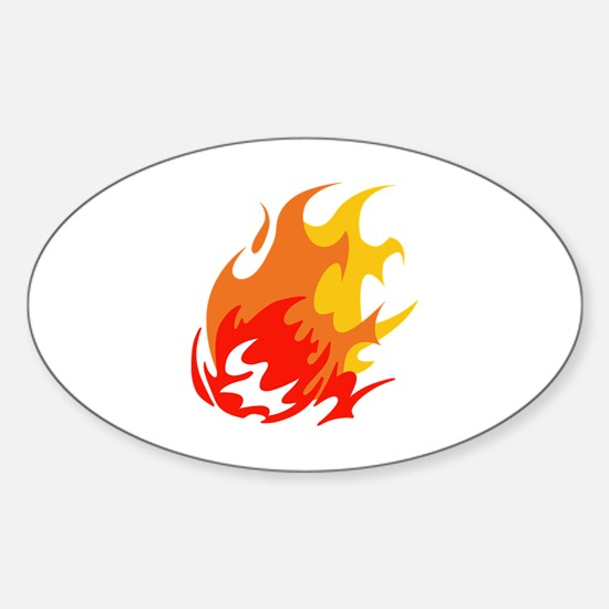 BALL OF FLAMES Decal
