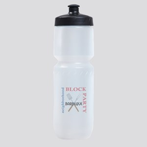 NEIGHBORHOOD BLOCK PARTY Sports Bottle