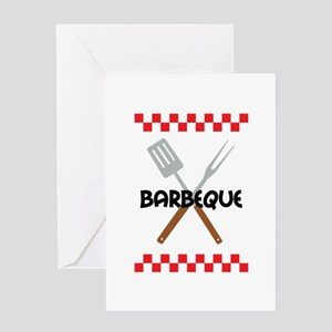 BARBEQUE PICNIC Greeting Cards
