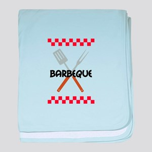 BARBEQUE PICNIC baby blanket