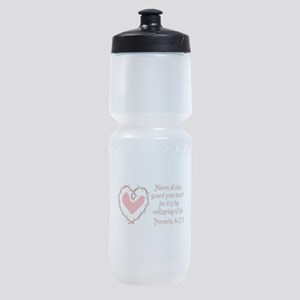 PROTECT YOUR HEART Sports Bottle