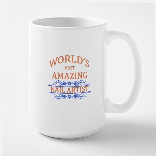 Nail Artist Large Mug