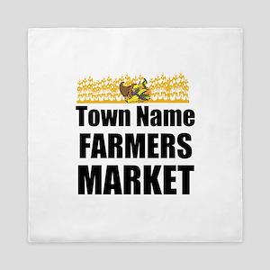 Farmers Market Queen Duvet