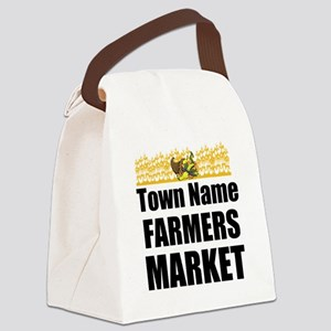 Farmers Market Canvas Lunch Bag