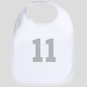 SILVER #11 Bib