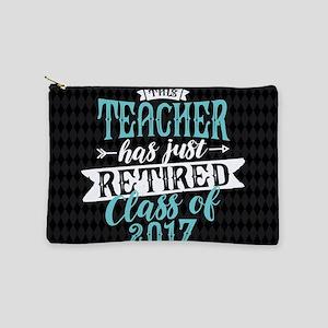 Retired Teacher Makeup Pouch