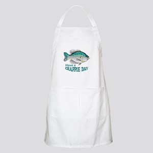 HAVE A CRAPPIE DAY Apron