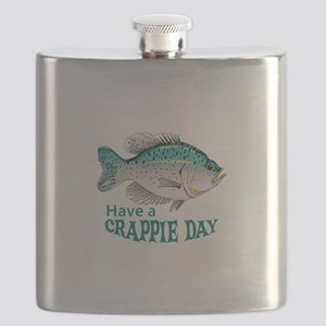 HAVE A CRAPPIE DAY Flask
