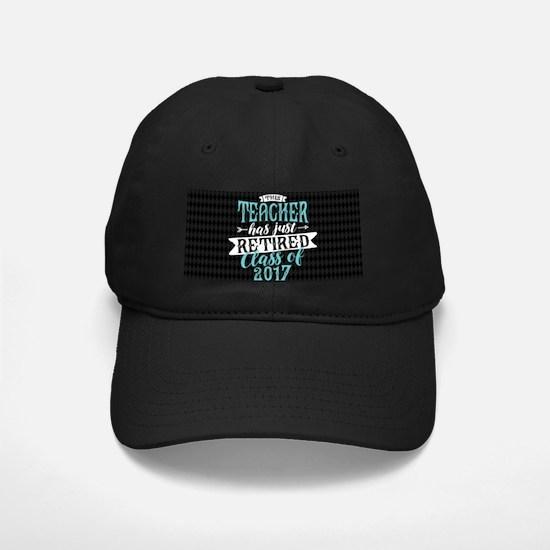 Retired Teacher Baseball Hat